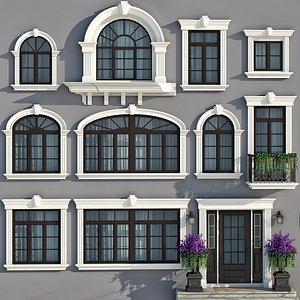 3D 3D model Classic Windows Collection