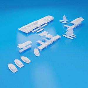 pier 3D model