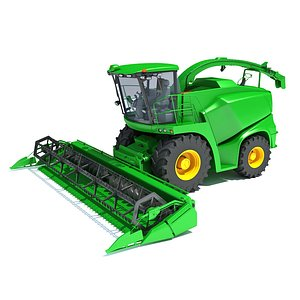 3D Combine Harvester V44