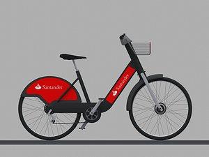 3D city bike
