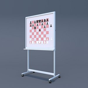3D training board stand model