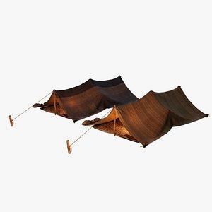 3D Ancient Tent 01