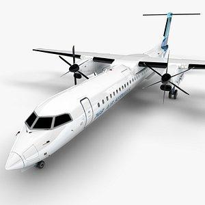 3D 748 Air Services Bombardier DHC-8 Q400 Dash 8 L1495