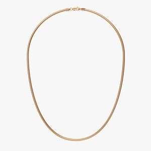 Chain Necklace NL010-3.0 3D model