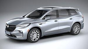 3D model Buick Enclave 2022
