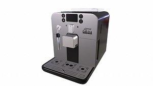 3D gaggia brera espresso machine