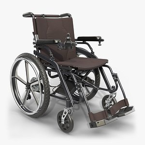 wheelchair hybrid wheel 3D model