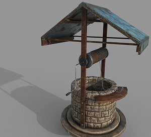 Medieval Well B 3D