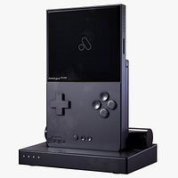 Analogue Pocket Handed Game Console With The Charger