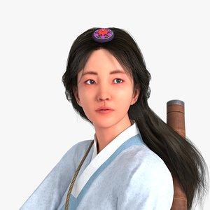 3D characters haena