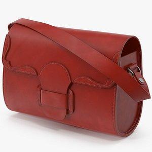 3D Leather Bag