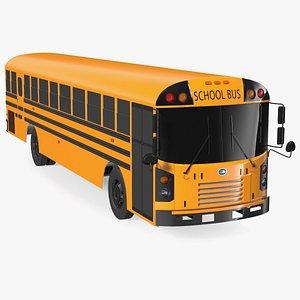 Blue Bird TX3 School Bus Exterior Only 3D model
