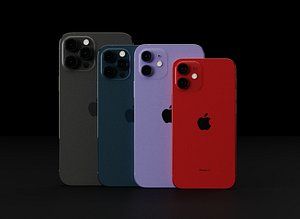 3D apple iphone 12 official
