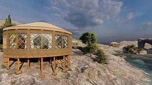 3D cabana