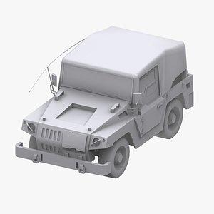 gundam federation jeep model