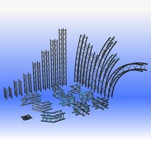 3D h30 290 truss