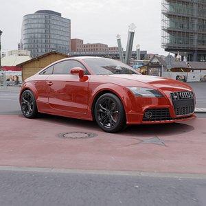 3D Audi TTrs 2013
