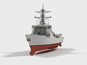 3D RoKS  Yulgok Yi I   DDG-992    KDX-3 Class model