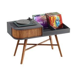 The Vinyl Table 3D model