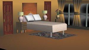 3D habitacion72675 model