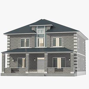 Classic House 08 3D model