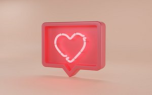 icon heart social model