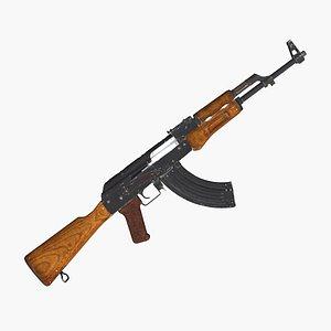 3D AK-47 model