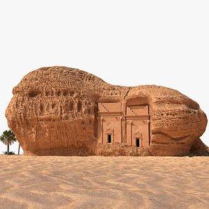 Hegra Mada'in Salih 3D model