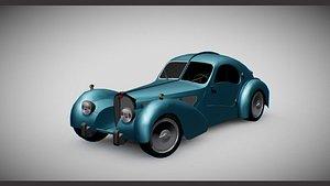 3D bugatti-atlantic