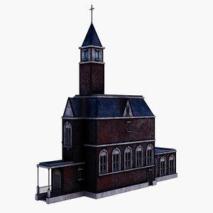 3D Old Church