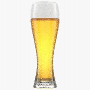 3D Beer Glass 2