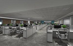 3D Large Office
