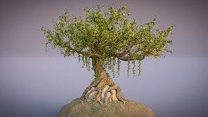 tree fantasy old 3D model