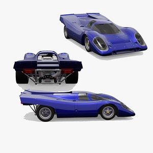 Porsche 917 Gulf 3D