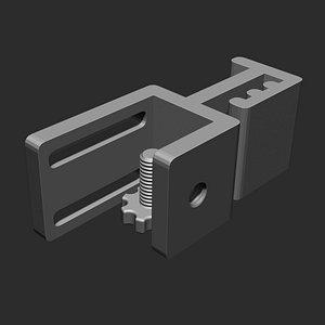 3D Headphone holder model