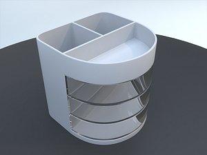 3D Desktop Organizer