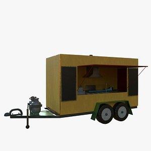 Food Trailer -Taco model