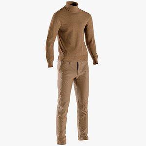 pants pullover 3D model