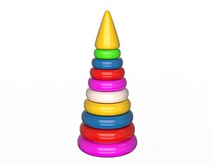 3D Stacking Toy model