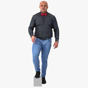 Arnold Business Walking Pose 02(1) 3D model