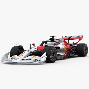 3D F1 2022 Concept Livey Mclaren Senna