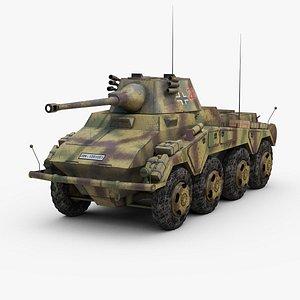 ww2 german sdkfz 234 3d max