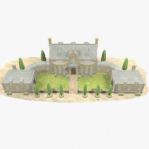 3D - manor house model