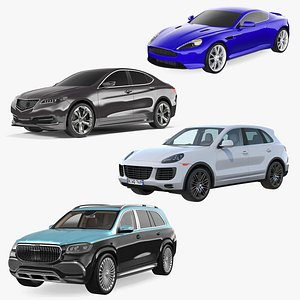 Luxury Cars Collection 3 3D model