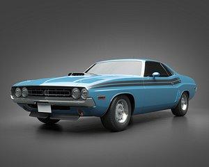 1971 Dodge HEMI Challenger 3D model