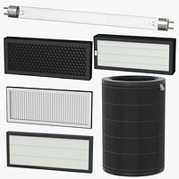 Filters and UV Germicidal Lamp