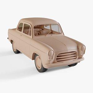 3D 1953 Ford Anglia 100E