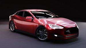 3D car vehicle sportscar