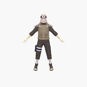 Sand Ninja 3D model