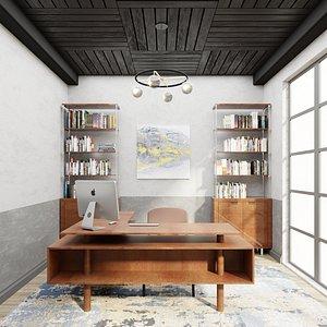 room interior office model
